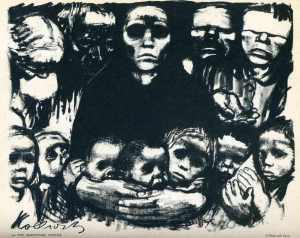 The Survivors - Käthe Kollwitz 1923