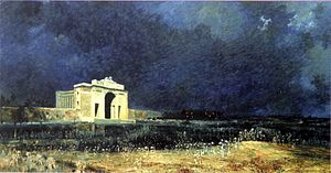 Menin Gate at Midnight - by Will Longstaff