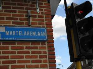 ...and along Martyrs Avenue (Martelarenlaan)