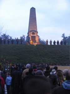 ANZAC Day Dawn Service at Polygon Wood