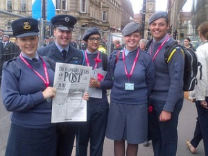 ...Cadets in Glasgow...